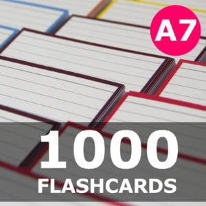 Samenstellen-1000 flashcards A7 formaat