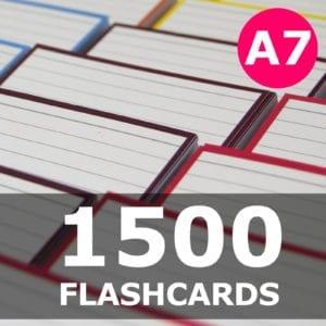 Samenstellen-1500 flashcards A7 formaat
