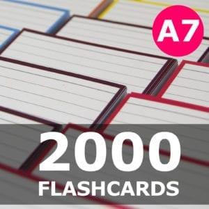 Samenstellen-2000 flashcards A7 formaat