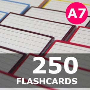 Samenstellen-250 flashcards A7 formaat