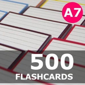 Samenstellen-500 flashcards A7 formaat