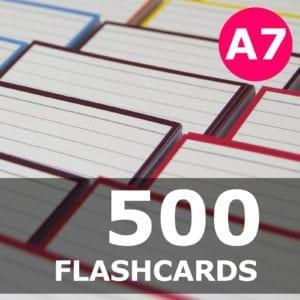 Samenstellen-500 flashcards A7 formaat