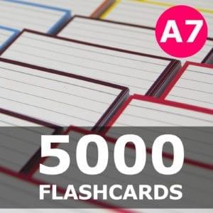 Samenstellen-5000 flashcards A7 formaat