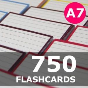 Samenstellen-750 flashcards A7 formaat