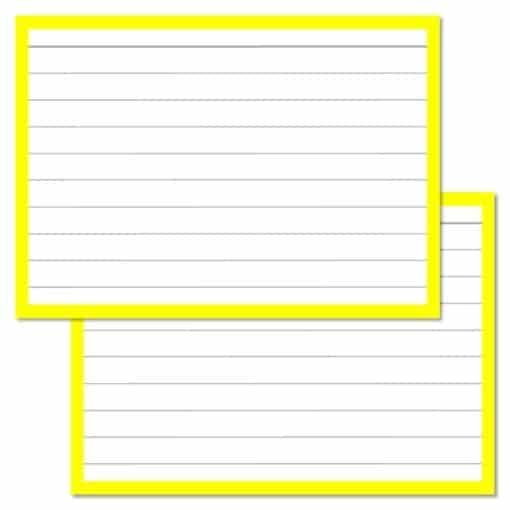 Flashcards pakket kleur 1000 stuks