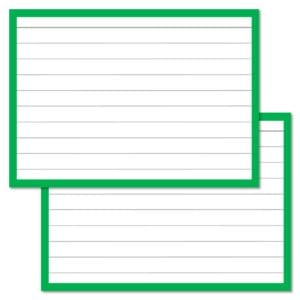 Flashcards pakket kleur 500 stuks