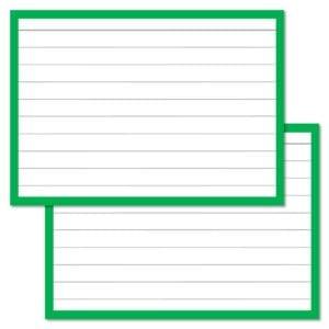 Groene Flashcards