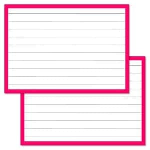 Roze Flashcards