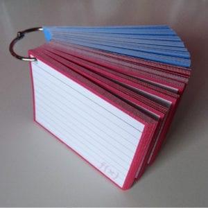 Klikringen 15 stuks inclusief perforatie 1500 flashcards