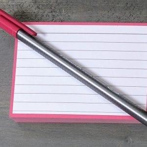 Pennen, fineliners en markers