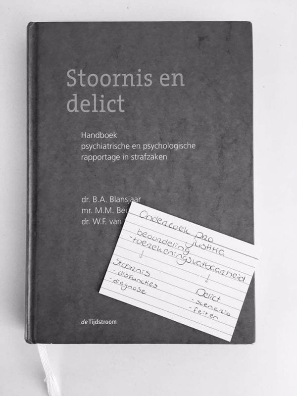 Flashcards Social Work met boek - wit - fanmail