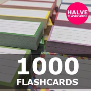 Samenstellen-1000 halve flashcards