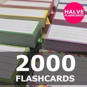 Samenstellen-2000 halve flashcards