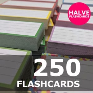 Samenstellen-250 halve flashcards