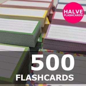 Samenstellen-500 halve flashcards