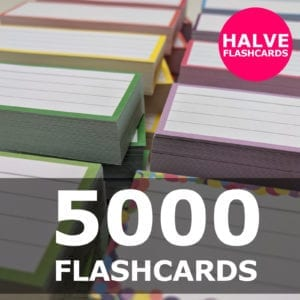 Samenstellen-5000 halve flashcards