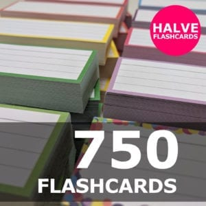 Samenstellen-750 halve flashcards