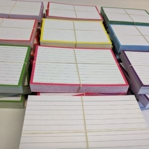 Kleurenpakketten flashcards A6 formaat
