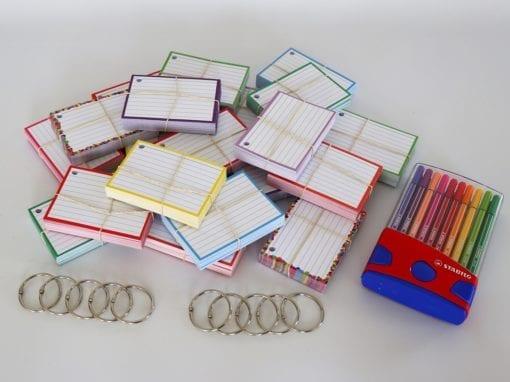 Colour Pack M 1000 A7 flashcards Stabilo Pen 68 Colour Parade