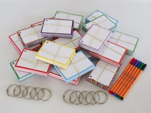 Colour Pack M 1000 A7 flashcards Stabilo Point 88 Etui 6 stuks