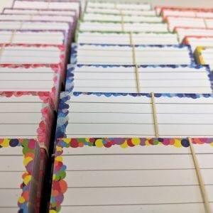 Kleurenpakketten A7 flashcards