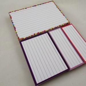 Proefpakket confetti A6- Paars A7-Oranje Lila Half