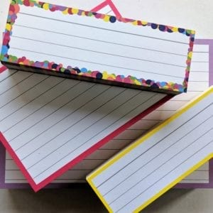Proefpakket flashcards categorie