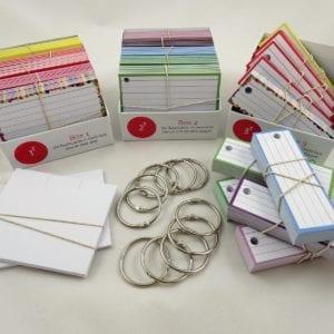 Examenpakket 1000 flashcards + boxjes