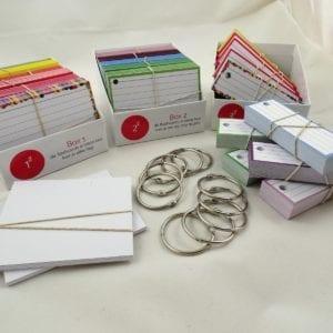 Examenpakket 1000 flashcards + boxjes - Side 1