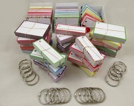 Examenpakket 2000 flashcards + Boxjes - Main 2