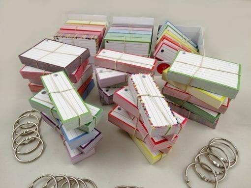 Examenpakket 2000 flashcards + Boxjes - Main 3