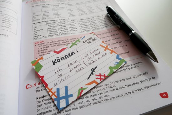 examenbundel flashcards duits