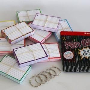 Colour Pack S 500 flashcards Stabilo Pen 68 Black Edition 15 stiften - kopie