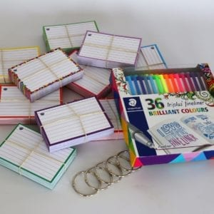 Colour Pack S 500 flashcards Staedtler triplus 36 stuks
