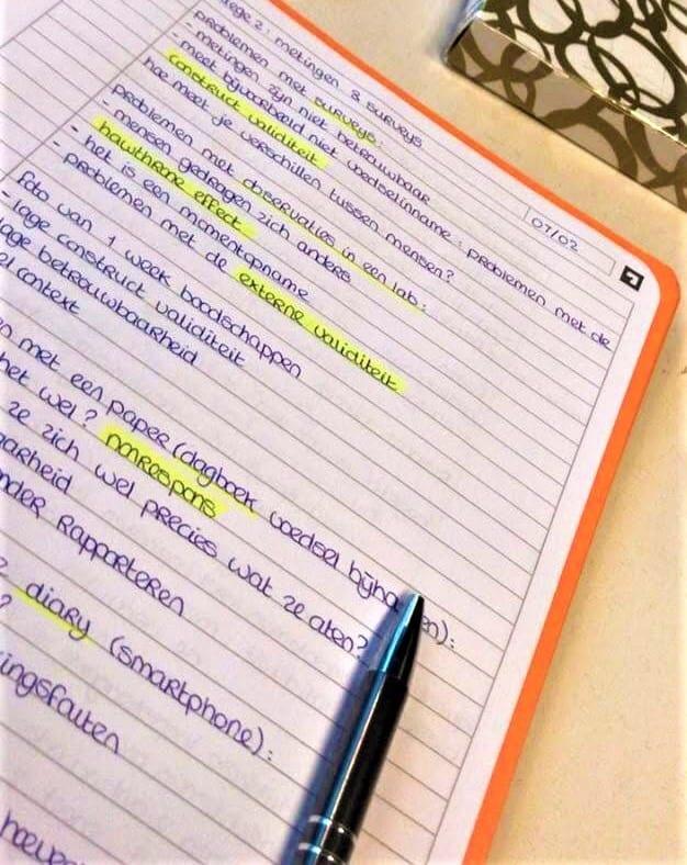Samenvatting maken definities markeren