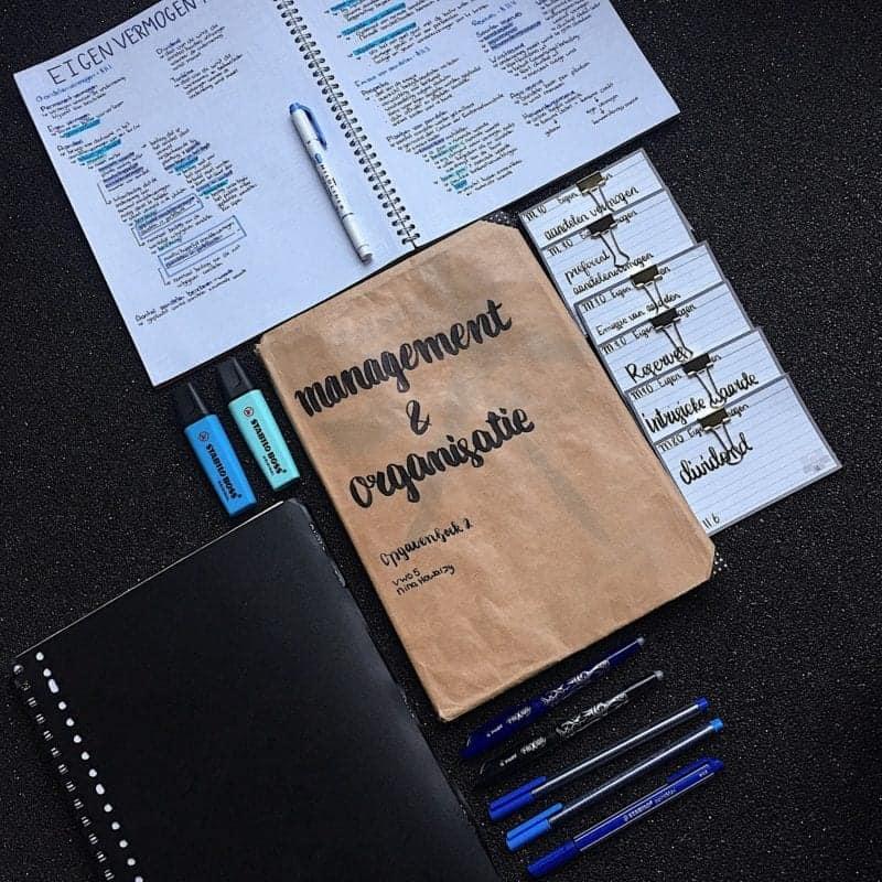 van boek tot flashcard - een stappenplan voor effectief leren